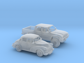 Cars 1:120 in Smooth Fine Detail Plastic