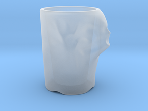 Face Escape Mug in Smooth Fine Detail Plastic