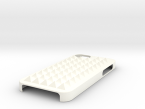 Case With Pyramids-all in White Processed Versatile Plastic