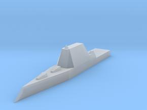 Zumwalt Class Destroyer 1:1800 x1 in Smooth Fine Detail Plastic