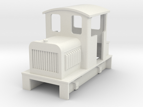 Sn2 diesel loco body in White Strong & Flexible