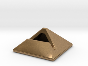 iPad Stand in Natural Brass