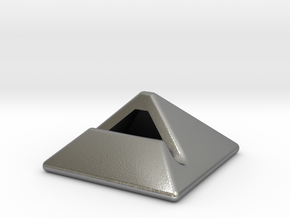 iPad Stand in Natural Silver