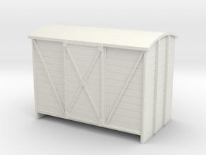 Sn2 van sliding door in White Natural Versatile Plastic