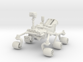 Mars  Rover Big in White Natural Versatile Plastic