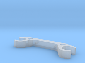 Rail Mount - Low in Smooth Fine Detail Plastic