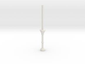 C1 Column Stub in White Strong & Flexible