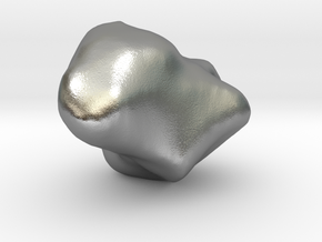Trapezium in Natural Silver