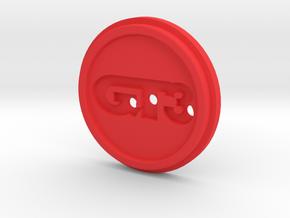 G27 Cap Part 3 in Red Processed Versatile Plastic