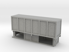 JCDecaux Shelter (enclosed) 1:148 N Gauge in Metallic Plastic