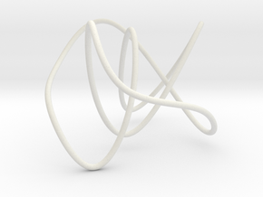knot 4 1 100mm in White Natural Versatile Plastic
