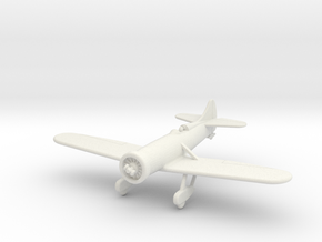 GAAR11 Gee Bee Y 1931 in White Natural Versatile Plastic