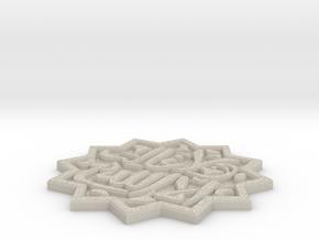 Ceramic Islamic Tile in Natural Sandstone
