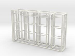 Modern boxcar ladder set in White Natural Versatile Plastic