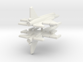 1/600 JF-17 Thunder (WSF,x2) in White Natural Versatile Plastic