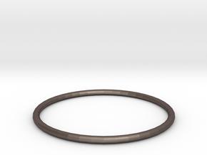 bracelet in Polished Bronzed Silver Steel