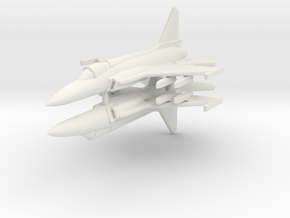 1/300 JF-17 Thunder (x2) in White Natural Versatile Plastic