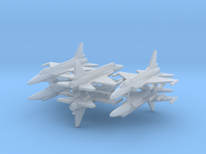 1/700 JF-17 Thunder (x6) in Smooth Fine Detail Plastic