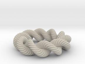 Spiral Ring in Natural Sandstone