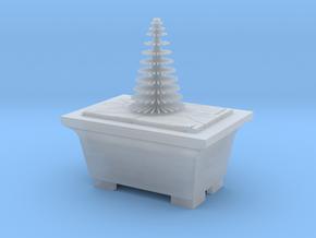 Bonsai Pine Tree Plant Model  in Smooth Fine Detail Plastic