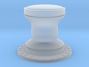 1:96 scale Capstan - Generic style in Smooth Fine Detail Plastic