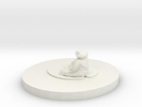 pond zen in White Natural Versatile Plastic