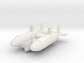 Hango-maimu Cargo Dirigible in White Natural Versatile Plastic