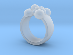 Spheres 14.9 mm in Smooth Fine Detail Plastic