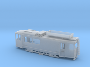 """Arbeitstriebwagen """"Thüringer Waldbahn"""" Spur N (1: in Smooth Fine Detail Plastic"""