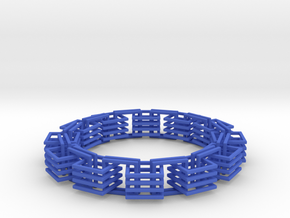 Square Links Chain in Blue Strong & Flexible Polished