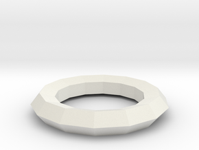 superring in White Natural Versatile Plastic