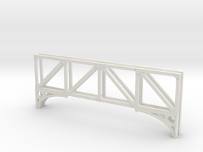 T1 79 Truss x 2 in White Natural Versatile Plastic