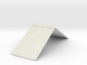 R1 25 Roof in White Natural Versatile Plastic