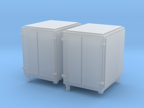 1:96 Standard Large Ammo Box - Set of 2 in Smooth Fine Detail Plastic