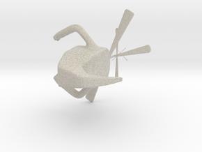 Robot in Natural Sandstone