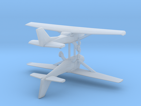 Cessna 172 - Set of 2 - Nscale in Smooth Fine Detail Plastic