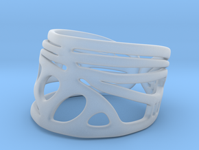Dragonfly Wing Ring in Smooth Fine Detail Plastic