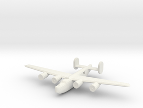 1/400 B24 Liberator in White Strong & Flexible