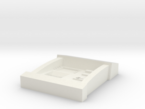 1:55 Scale ATM in White Natural Versatile Plastic