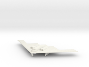 1/350 B-2 Spirit (Landing Gear Down) in White Natural Versatile Plastic