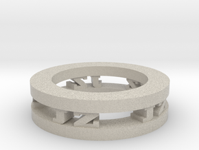 Ring in Natural Sandstone