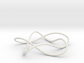 knot 5-1 100mm in White Natural Versatile Plastic
