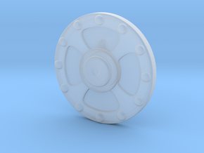 He-Man's Shield scaled for Minimates in Frosted Ultra Detail