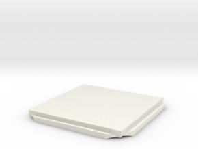ITEM K B  in White Natural Versatile Plastic