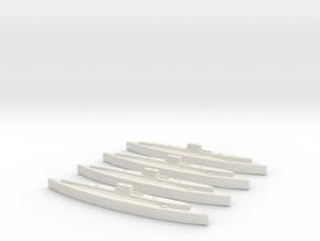 Axum (Adua class) 1:1800 x4 in White Natural Versatile Plastic