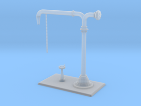 Colonna Idrica / water crane scale1/87 in Smooth Fine Detail Plastic