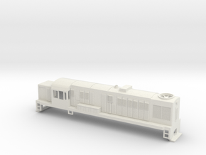 DJ Locomotive, New Zealand, (OO Scale, 1:76) in White Natural Versatile Plastic