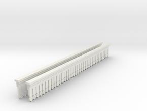 Valance Type 2 70 X 2  in White Natural Versatile Plastic