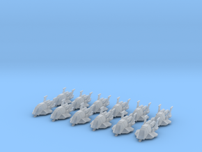 B&S Scout Squadron - 12 scoutships in Smooth Fine Detail Plastic