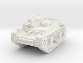 1/100 Marmon-Herrington T16 (CTLS-4 TAY) Tank in White Natural Versatile Plastic